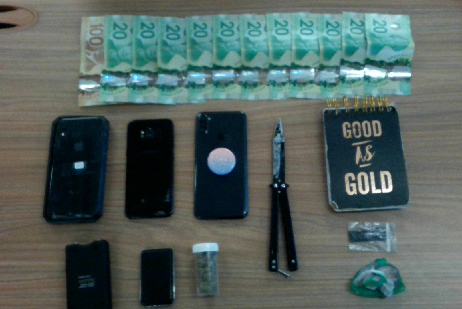 Two people facing numerous charges following traffic stop in Orillia