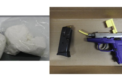 Police allegedly seize loaded gun, drugs during search of Pickering home