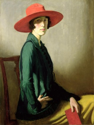 Portrait of Vita Sackville-West, by William Strang, 1918. Credit: Wikipedia.