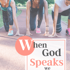 WHEN GOD SPEAKS TO YOUR HEART