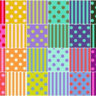 Pom Poms & Stripes