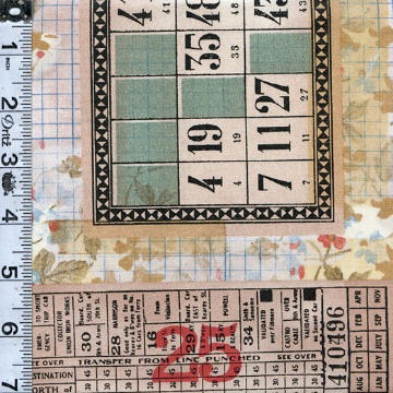 Memoranda Multi Tickets Yardage SKU# PWTH091-MULT