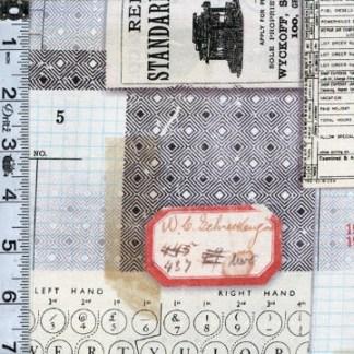 Memoranda Multi Typewriter Yardage SKU# PWTH095-MULT