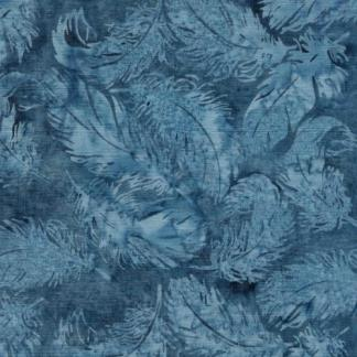 Faded Blue Jeans - Tossed Feather - Rain - 121922727