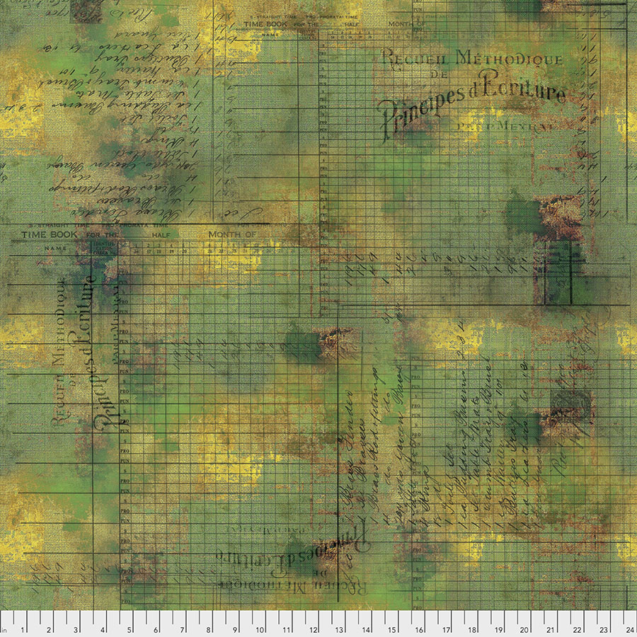 Abandonded by Tim Holtz - Principal Methods- PWTH132.MOSS