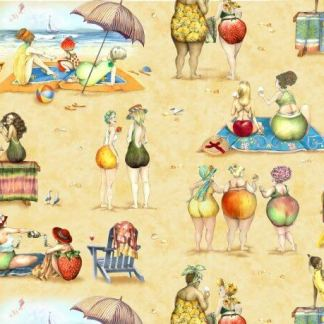 Elizabeth's Studio - Fruit Ladies 1519 Beach Ladies Scenic - Sand