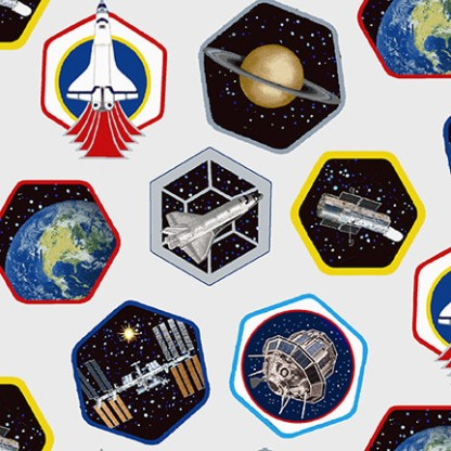 Planetary Missions - Patches - 5307-09 Multi