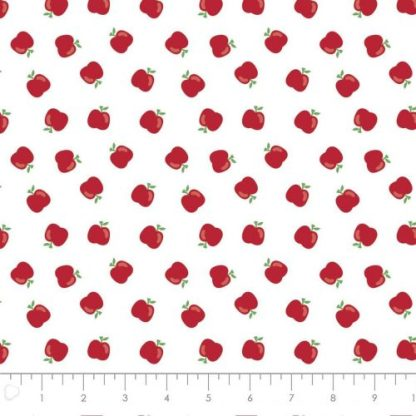 Camelot Fabrics - Teachers Rule - Apples