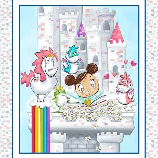 Believe in Magic - Castle Panel - 5475P-1 White