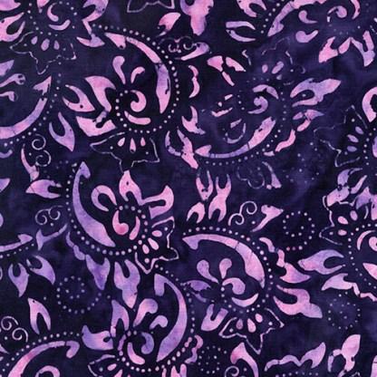 Paisley Vine - Dark Purple - 9154-62