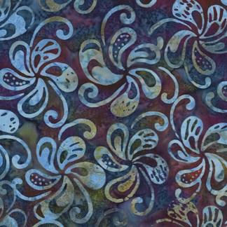 Bali - Petal Play - Spinning Petals - Denim/Violet - 9163-56