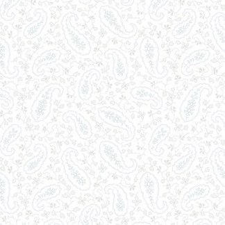 "Mayfair 108"" Wide - by Blank Corp - Grey on White - 1095-09"
