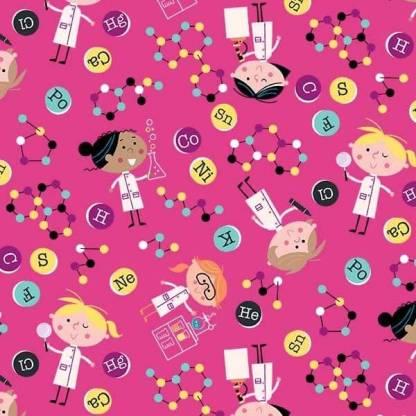Stem Squad by Edward Miller - Girls in Science - dc9719_pink