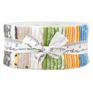 "Moda Jelly Roll - Spring Brook - 40 Piece Assorted 2.5"" x 44"""