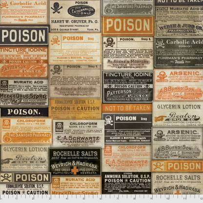 Regions Beyond by Tim Holtz - Apothecary - PWTH072.MULTI