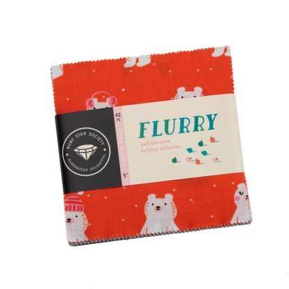 """Flurry Charm Pack RS5028PP Ruby Star Society 5"""" x 5"""""""
