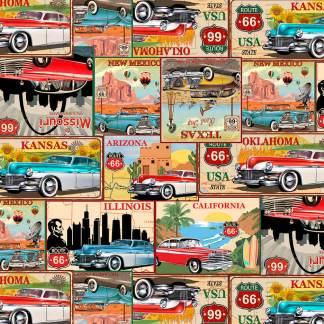 Life's a Kick - 1655-30 Tan - Postcards