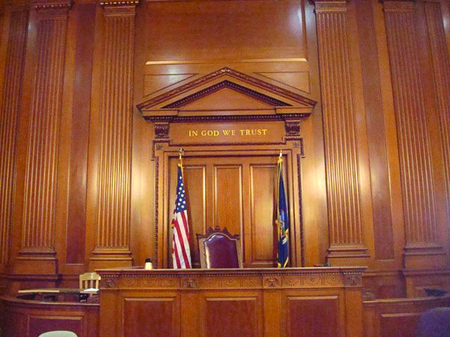 Image result for in God we trust - court