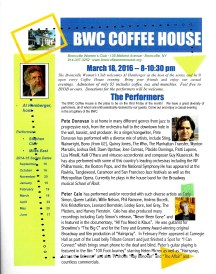 March coffeehouse from email download
