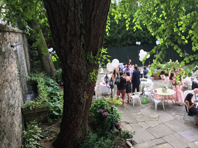 Patio Summer 2015 wedding 2