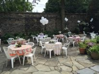 Patio Summer 2015 wedding