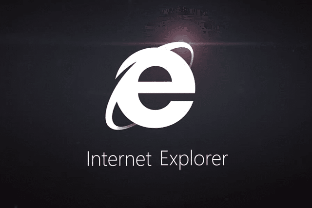 Internet Explorer 11 Logo Black
