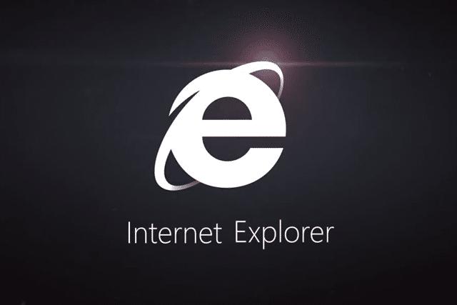 Internet Explorer 11 Logo Black