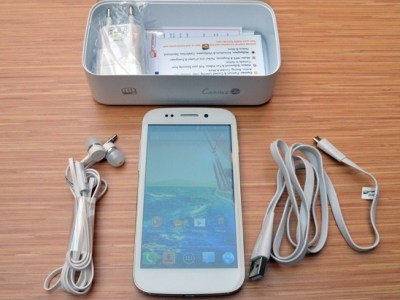 Micromax Canvas 4 Unboxing