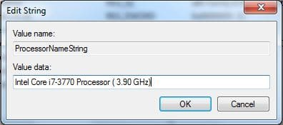 Changing Processor Name