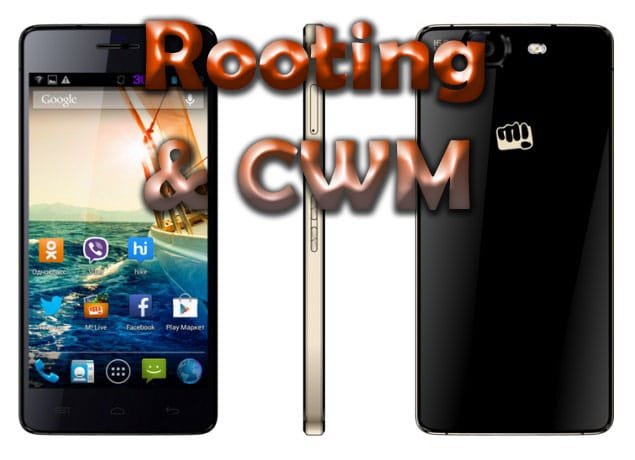 Micromax Canvas Knight Rooting and CWM