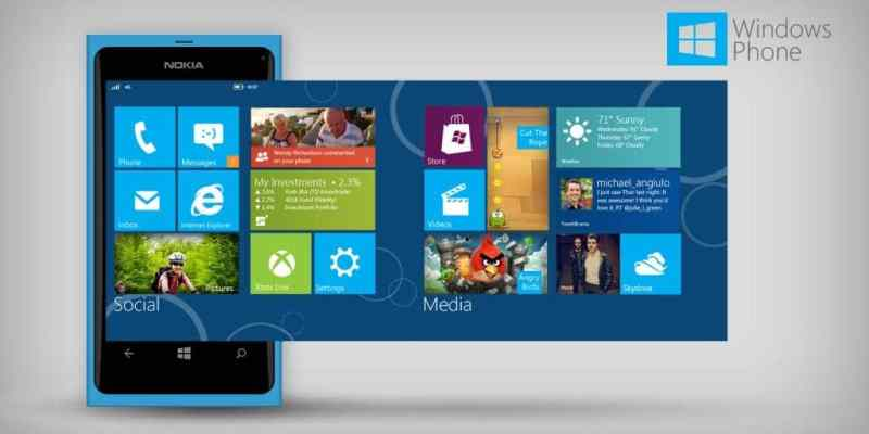 Windows Phone 8 in Nokia