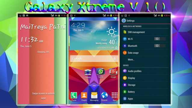 Galaxy Xtreme Rom for Micromax A114