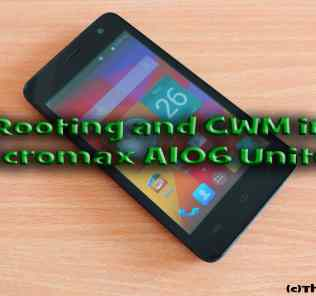 Rooting and CWM Recovery in Micromax A106 Unite 2