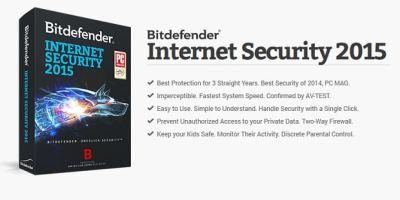 Bitdefender Internet Security 2015 GiveAway