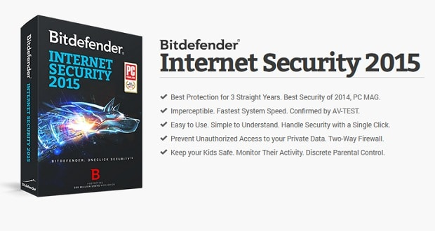 Bitdefender Internet Security 2015 GiveAway
