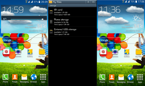 Galaxy S4 Custom ROM For Micromax Canvas 2.2 A114