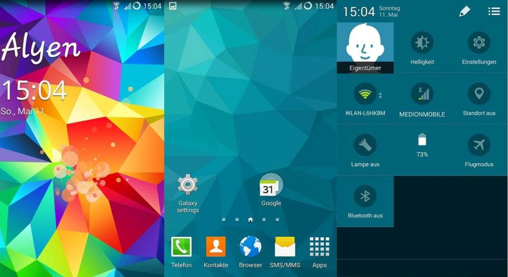 Galaxy S5 ROM For Micromax A114 Canvas 2.2
