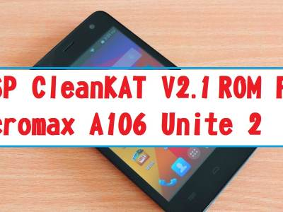 AOSP ROM For Micromax A106 Unite 2
