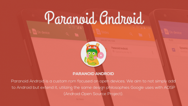 Paranoid Android ROM for Xiaomi Redmi 1S