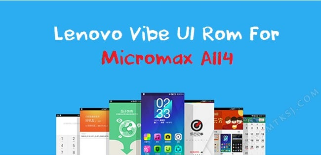 Lenovo Vibe UI Rom for Micromax Canvas 2.2 A114