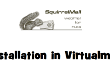 SquirrelMail Webmail Installation in Virtualmin