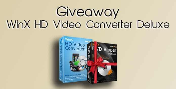 WinX HD Video Converter Deluxe Giveaway