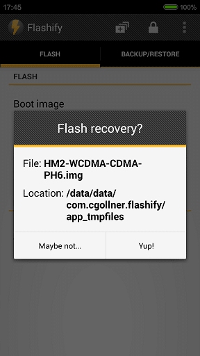 Install TWRP Recovery in Xiaomi Redmi 2 4