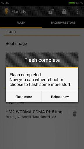 Install TWRP Recovery in Xiaomi Redmi 2 6