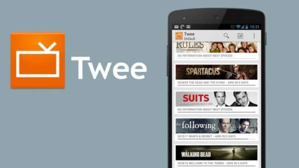 Twee Android App For Tracking TV Shows