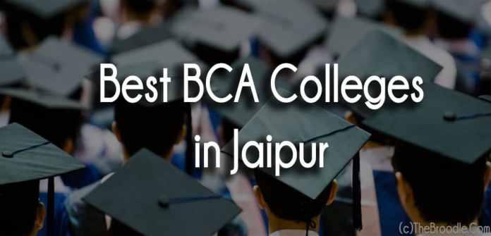 Best BCA Colleges in Jaipur