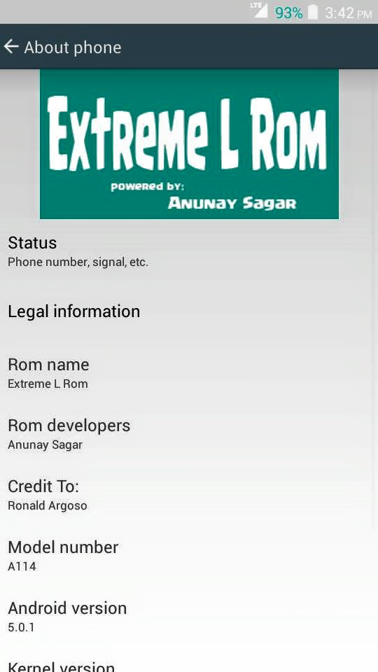 Extreme L Lollipop Rom for Micromax A114 Canvas 2.2 3