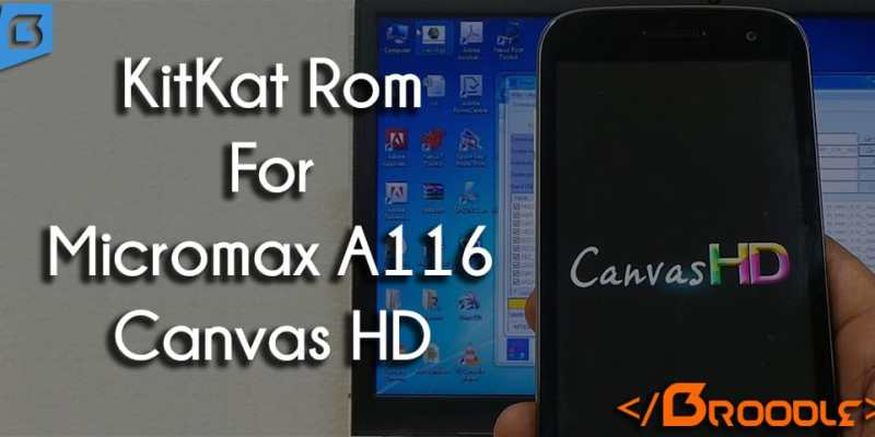 AOSP Android 4.4.2 Kitkat Rom For Micromax Canvas HD A116