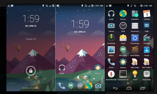 crDroid Android 4.4.4 Kitkat Rom For Xiaomi Redmi 2