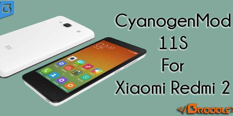 CM11S For Xiaomi Redmi 2